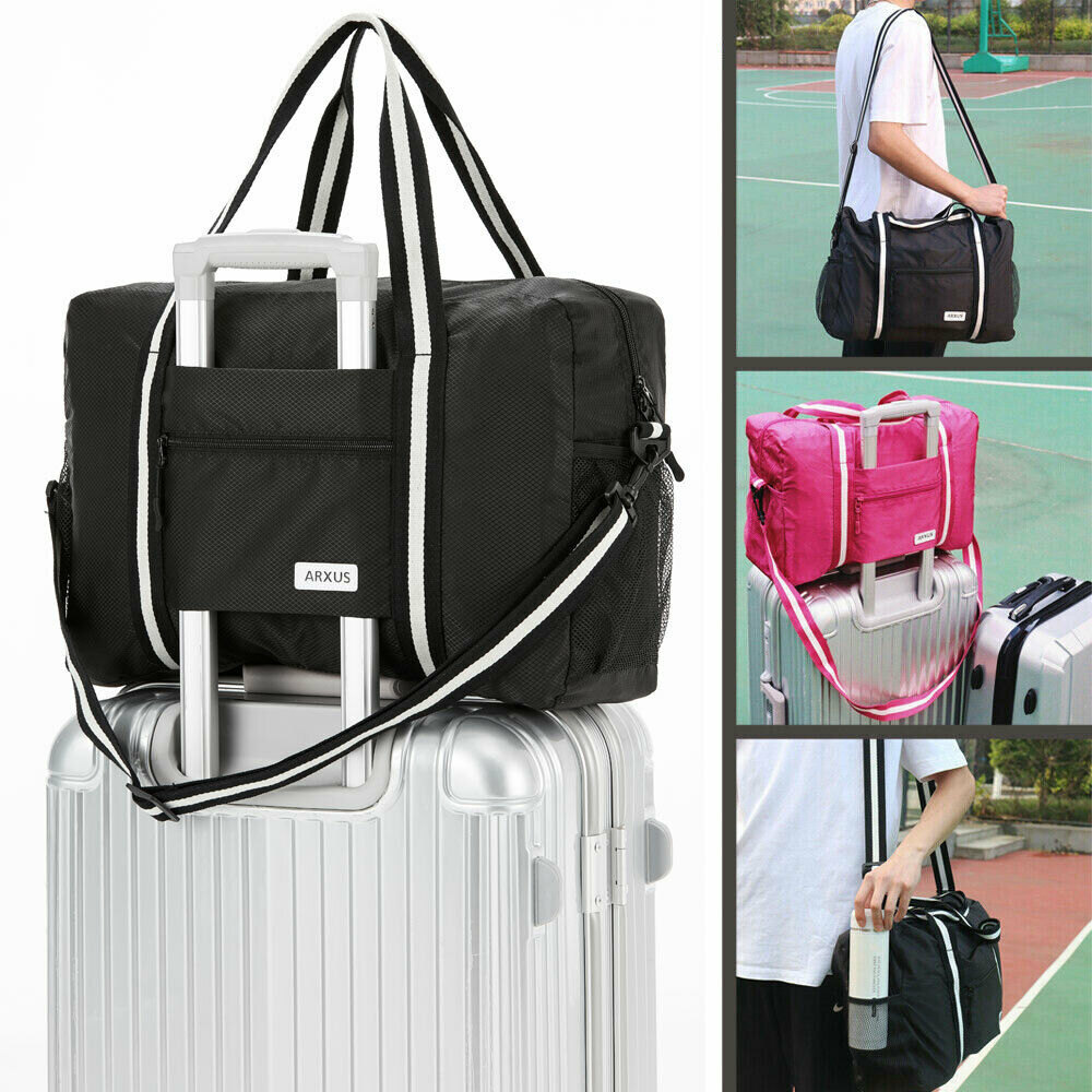 lightweight waterproof foldable travel storage luggage carry
