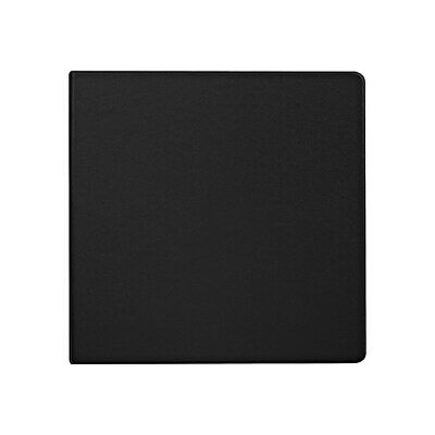 Staples Standard 4-Inch D-Ring Binder Black  976166