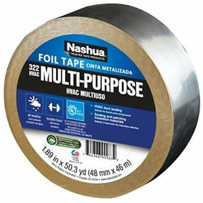 322 Hvac Multi-purpose Foil Tape 46m Length 48 Mm Width Aluminum Masking Home