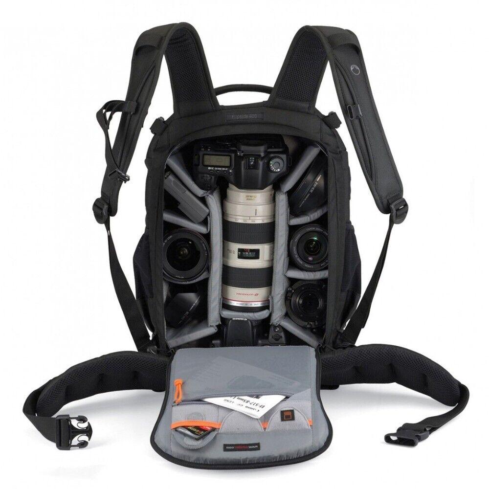 Gopro Lowepro Flipside 400 AW Digital SLR Camera Photo Bag W