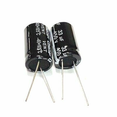 10 Pieces  100V  10UF Electrolytic Capacitor 6x11mm Radial b23