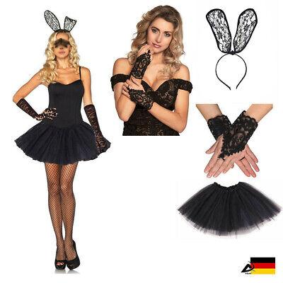 Damen Kostüm heißes Häschen Hase Fasching Halloween Oster sexy Bunny Hase - Bunny Halloween Kostüm