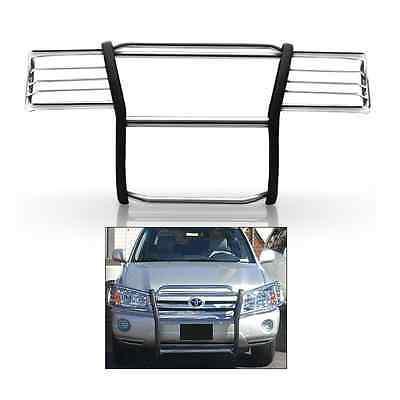 Full Grill Guard (1 Piece Full Grille Guard Bumper Protector Stainless For Toyota Highlander 08-10 )
