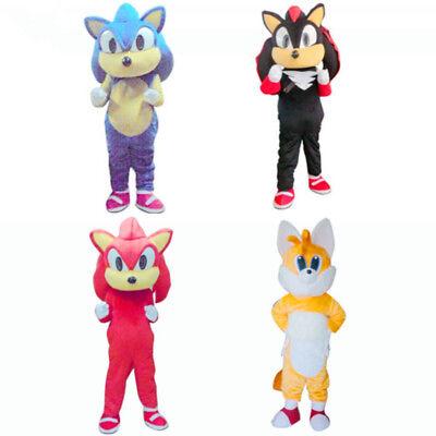 Fancytrader Sonic the Hedgehog Mascot Costume Outfit Adult Size for - Hedgehog Mascot Costume