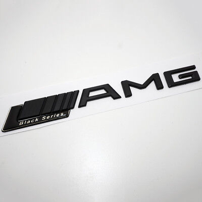 Mercedes Benz Amg Black Series (AMG Mercedes Benz Black Series Car Sticker Black 3D Emblem Badge)