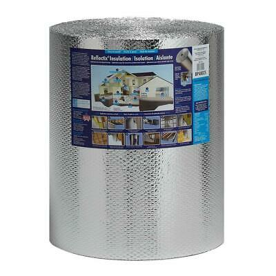 24 In. X 100 Ft. Double Reflective Insulation Roll W Staple Tab Edge Barrier