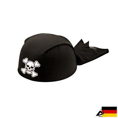 Piraten Kappe Hut Seeräuber Jack Totenkopf Karibik Bandana - Totenkopf Piraten Kostüme