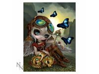 Clockwork Dragonling 3D Picture 28 x 38cm - Brand New Still in Packaging - Nemesis Now