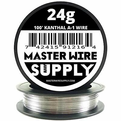 Kanthal A1 - 100&39 24 Gauge Resistance Wire Home Tool Improvement