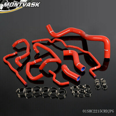 Gplus For VW Golf Mk4 1.8T Turbo Silicone Coolant Radiator Hose Clamps Kit 99-06
