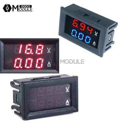 Dc 100v 10a Voltmeter Ammeter Bluered Redred Led Digital Volt Meter Gauge