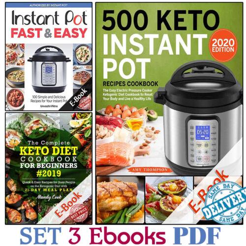 500 Keto Instant Pot + Keto Diet Cookb00k (3 Ë-B00ks ᑭ.ᗪ.ᖴ) 🔥 Fast Delivery 🔥