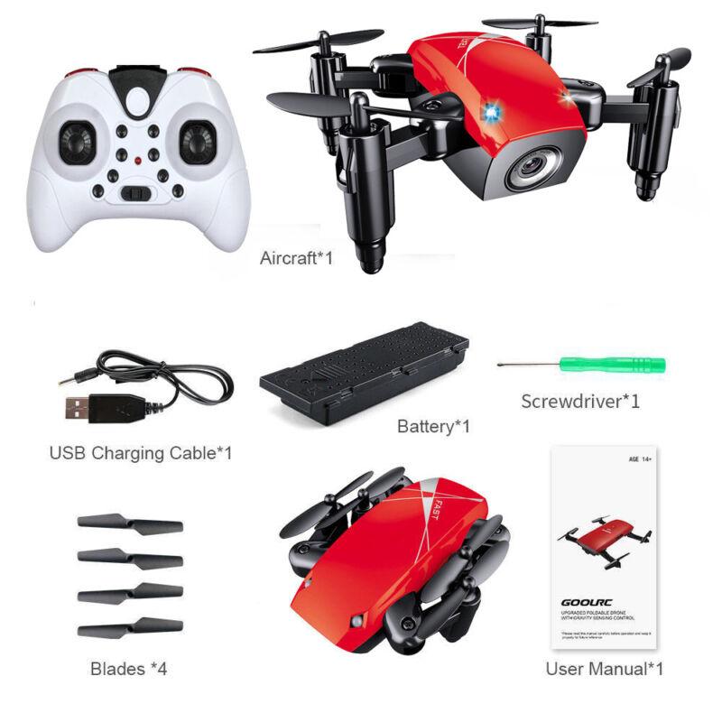 Mini S9 4-Axis Gyro RC Quadcopter 4 Channels  Foldable Pocket Drone VS GoolRC 47