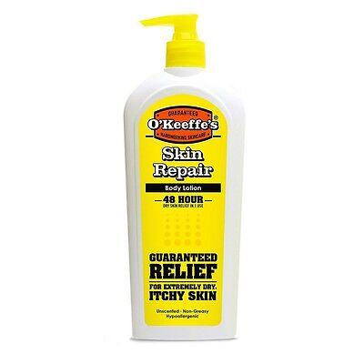 O'Keeffe's K0120030 Skin Repair Pump Bottle 12 oz. 1 - Pack
