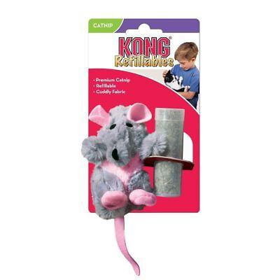 Kong Refillable Catnip Rat Cat Kitten Toy Cats Toys cat nip  SAMEDAY DISPATCH