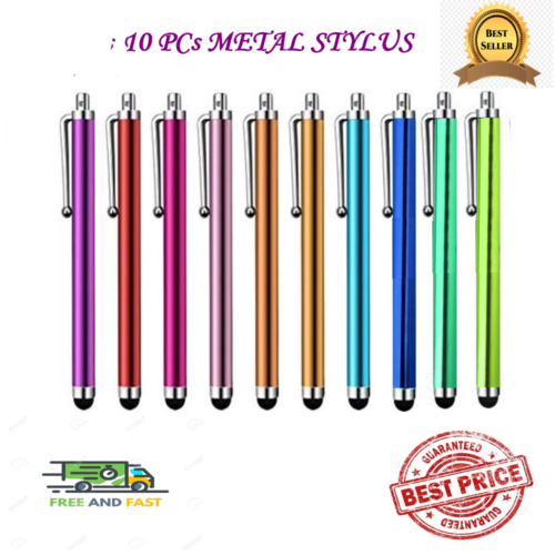 10x capacitive touch screen stylus pen
