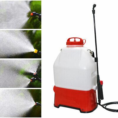 16L/ 4 Gallon Battery Powered Backpack Sprayer Wide Mouth Garden Plants Sprayer Gallon Power Sprayer