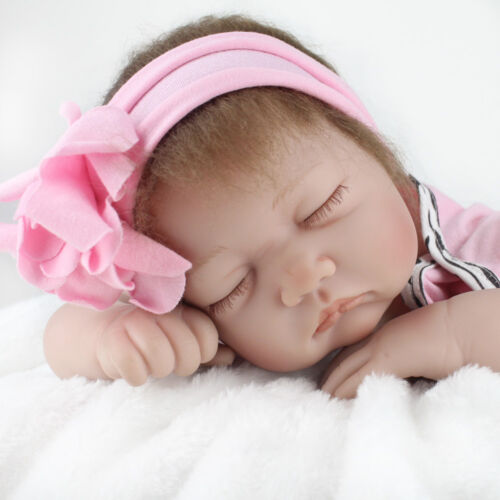 Купить Kaydora - Reborn Baby Dolls 22 Real Life Sleeping Newborn Toddler Vinyl Silicone Doll Toy