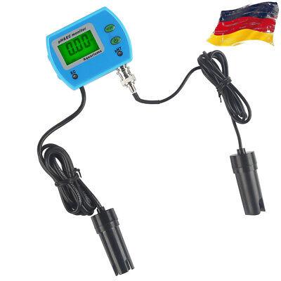2 in1 LCD pH EC Meter Tester Wassertest Messgerät Leitwertmessgerät