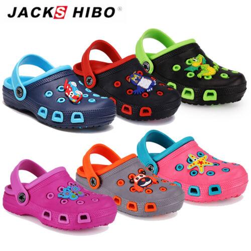 Junge Mädchen Atmungsaktiv Badeschuhe Sommer Clogs Pantoffeln Kindersandalen