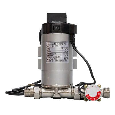 High Pressure Wort Booster Pump - Stainless Steel Head - Homebrew -