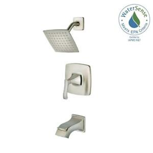 Pfister Venturi Single Handle 1 Spray Tub And Shower Faucet In Brushed Nickel