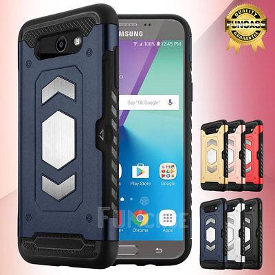 For Samsung Galaxy J7 Sky Pro /J7V /2017/ Prime/Perx Shockproof Mount Case Cover