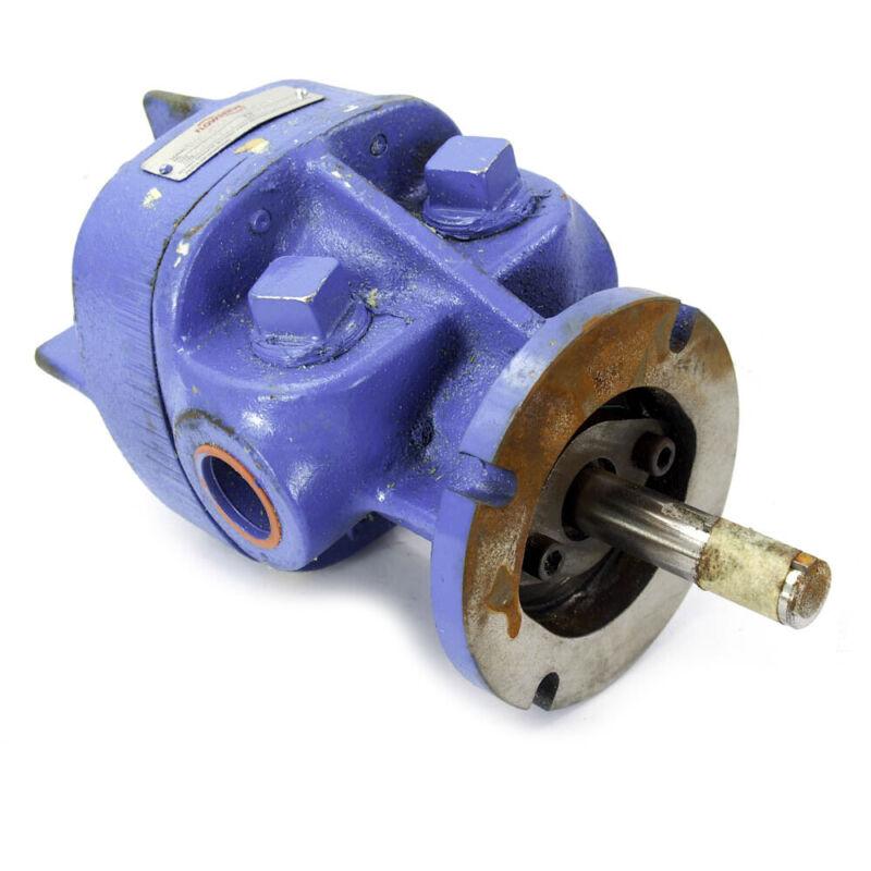 """Ingersoll Dresser 3GAFM0D0 Flowserve 1"""" NPT Rotary Gear Pump GAX-3"""