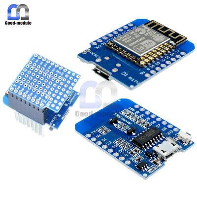 Mini Esp8266 Esp-12 Wemos D1 Nodemcu Wifi Development Protoboard Shield Board