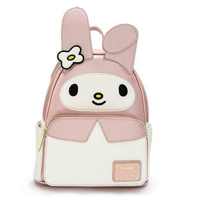 Loungefly Hello Kitty My Melody Cosplay Mini PU Backpack - NEW!