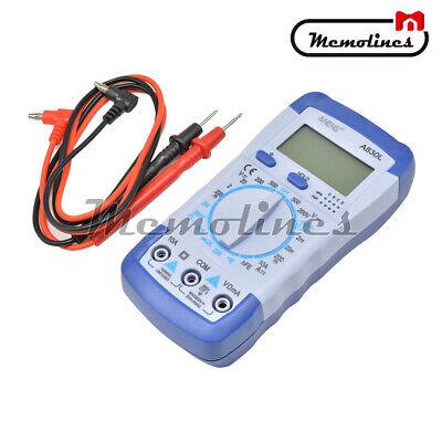Digital Hand Held Lcd Multimeter Measuring Dc Ac Multitester Volt Tester A830l