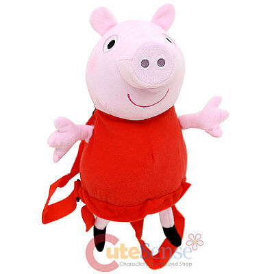 Nick Jr Peppa Pig Plush Doll Backpack Costume Bag 15