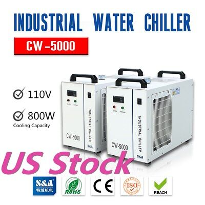 Sa Cw-5000 Industrial Water Chiller For 5kw Spindle Wood Carving Machine 110v