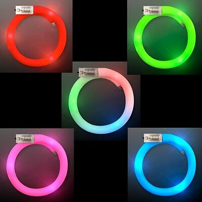Light Up Flashing Bracelet - Available in 5 AMAZING colors! - Light Up Wristband