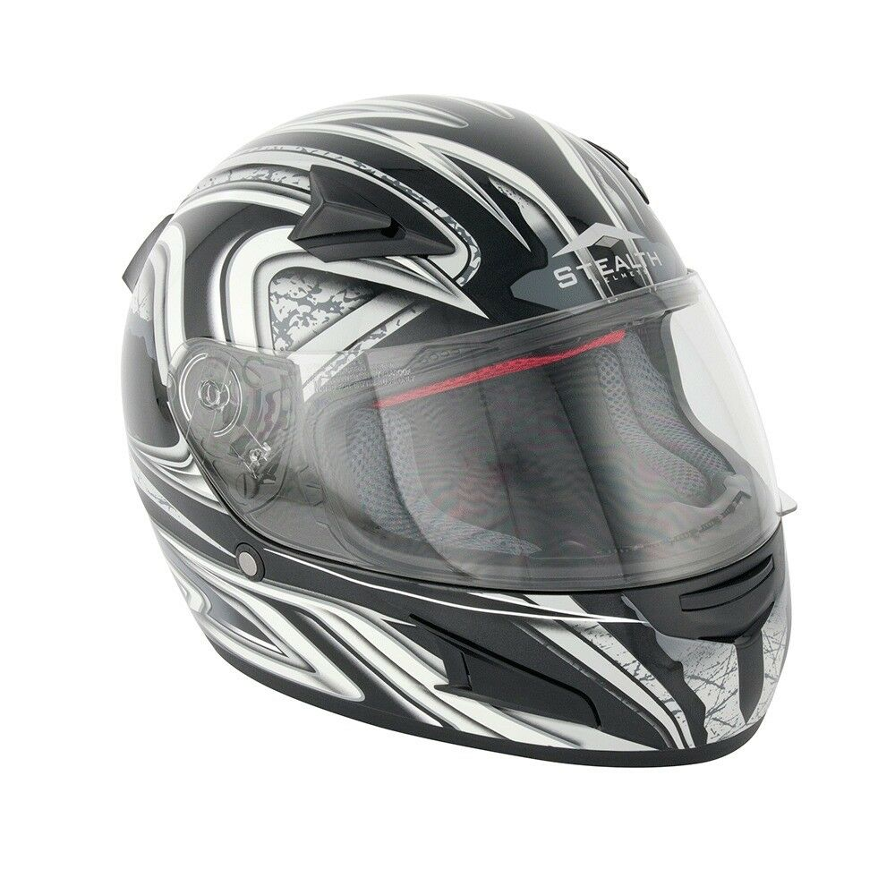 New Stealth Daisho Full Face Road Helmet - HD188 - Was £79.99