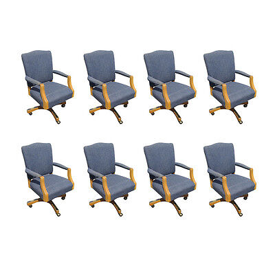 Set Of 8 Paoli Traditional Conference Chair Mr14431
