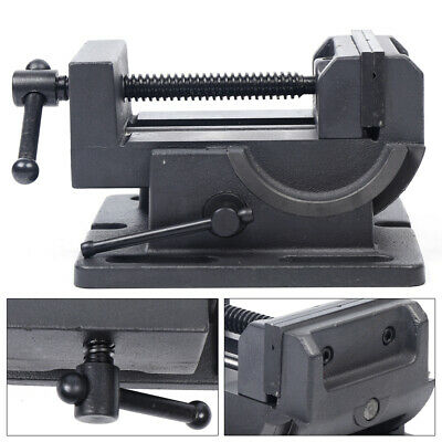 4 Bench Vice Inclined Vise Heavy Duty Workshop Clamp Jaw Swivel Locking Base