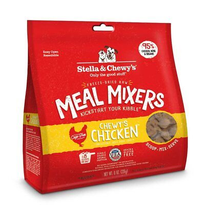 Stella  Chewy's Freeze-Dried Raw Chewy's Chicken Meal Mixers Grain-Free Dog Food