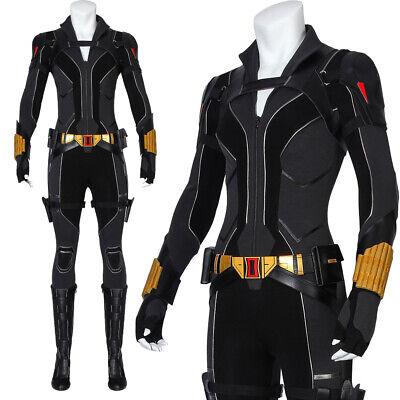 Black Widow Cosplay Costume (2020 Black Widow Cosplay Costume Natasha Romanoff Women Costume Halloween)