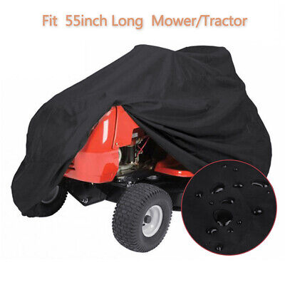 55'' Riding Lawn Mower Tractor Cover Garden Outdoor Yard UV Protector Waterproof - Lawn Tractor Cover