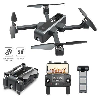 Holy Stone HS550 RC Drone with 2K Camera Foldable Quadcopter Brushless GPS New