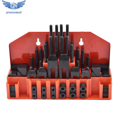 58 Pc Pro-series 12 T-slot Clamping Kit Mill Machinist Set 38-16