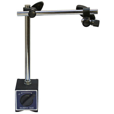 170 Lbs Cap Standard Magnetic Base Dial Indicator Holder W Fine Adjustment