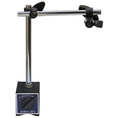 170 Lbs Cap Standard Magnetic Base Dial Indicator Holder W Fine Adjustment