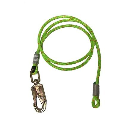 Rope Logics 12in Wirecore Flipline With Swivel Snap 12ft Arborist Rigging