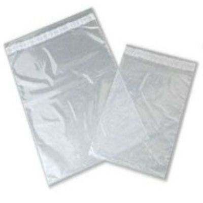 100 Clear Plastic Mailing Bags Size 9x12