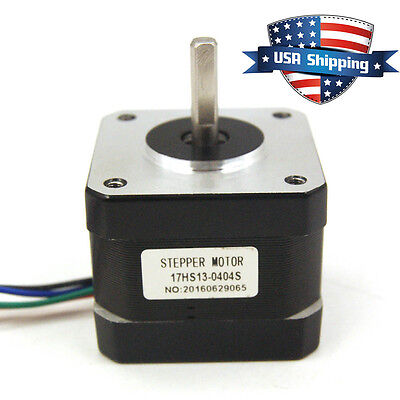 Nema 17 42mm Stepper Motor 37oz.in 12v 0.4a 3d Printer Reprap Arduino Diy Cnc