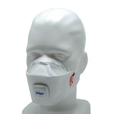 1x Dräger FFP3 Maske Mundschutz + Ventil X-plore®1930 V Atemschutzmaske Gr. M/L