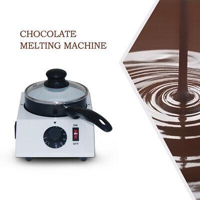 Hot Chocolate Butter Melting Pot Electric Fondue Melter Machine Milk Tea Heating Ceramic Chocolate Fondue Pot
