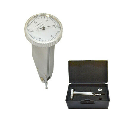 .030 Inch Vertical Dial Test Indicator .0005 Inch Graduation With Case